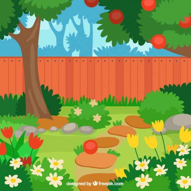 Garten gieen clipart black and white library Garden Vectors, Photos and PSD files | Free Download black and white library