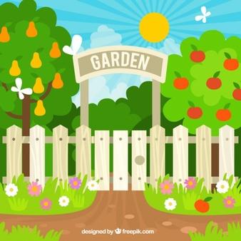 Garten gieen clipart