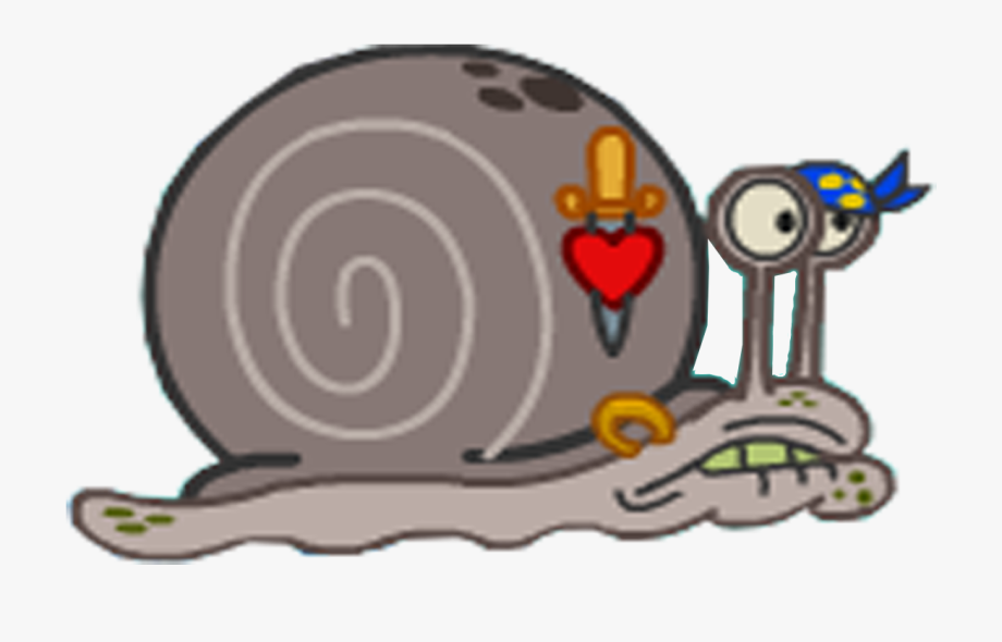 Gary the snail clipart banner royalty free stock Alley Snails - Spongebob Squarepants Mary Ex Boyfriend #2328151 ... banner royalty free stock