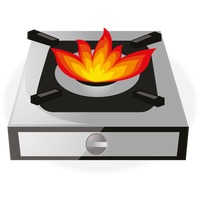 Gas burner clipart image Pictures Of A Stove | Free download best Pictures Of A Stove on ... image