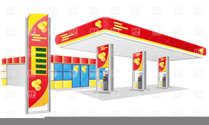 Gas pump clipart free picture freeuse Cartoon Gas Station Clipart | Free Images at Clker.com - vector clip ... picture freeuse