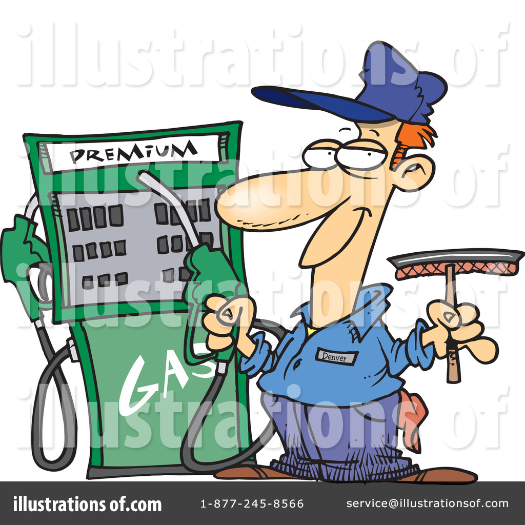 Gas pump clipart free png library download Gas Pump Clipart #1047603 - Illustration by toonaday png library download