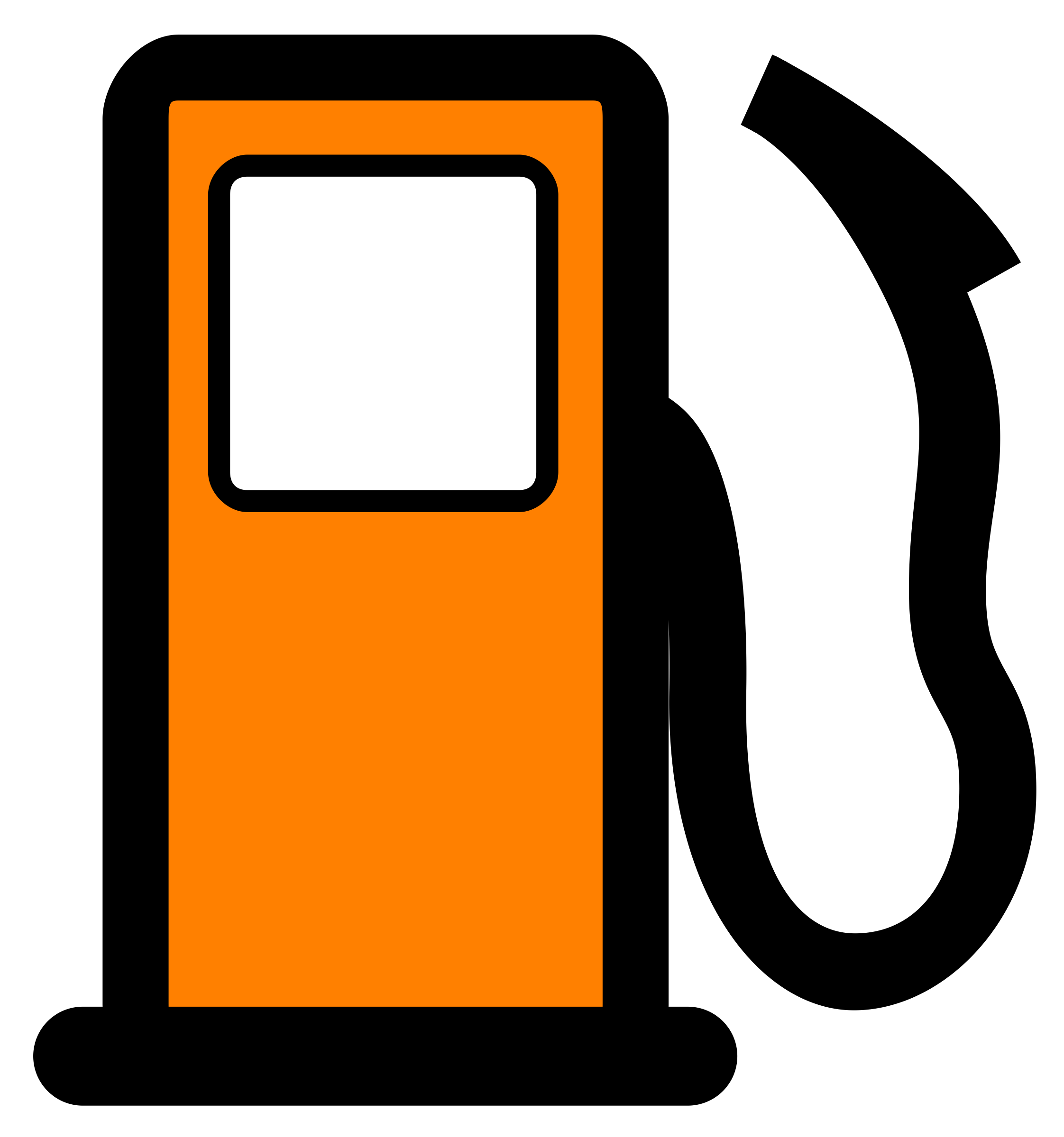 Cartoon gas station clipart vector free stock Gas Pump Clip Art - Gas Clipart , Transparent Cartoon - Jing.fm vector free stock