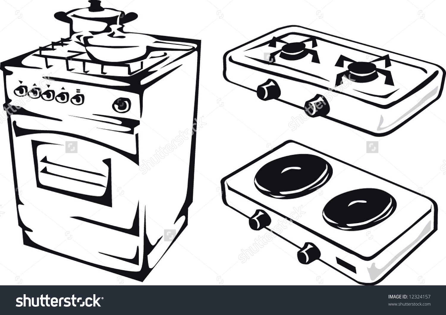 Gas stove clipart clip art royalty free Gas stove clipart 5 » Clipart Station clip art royalty free