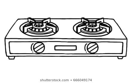 Gas stove clipart image royalty free Gas stove clipart black and white » Clipart Portal image royalty free