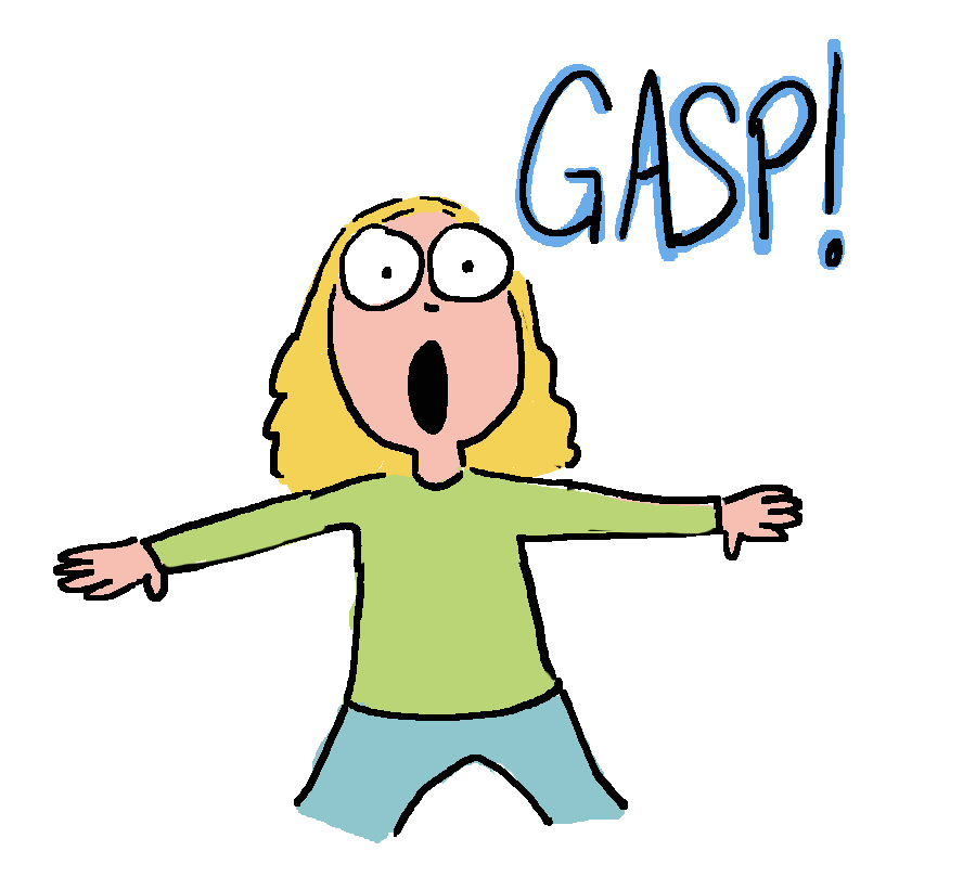 Gasp clipart png freeuse download The Life and Times of Weezer Pinko   Hedger Humor png freeuse download