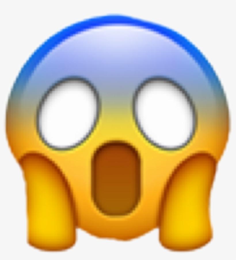 Gasp clipart png freeuse Shocked Emoji Wow Omg Freetoedit - Transparent Background Gasp Emoji ... png freeuse