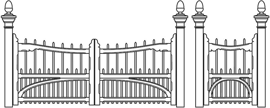 Gate clipart black and white free stock Gate Clipart Black And White (90+ images in Collection) Page 2 free stock