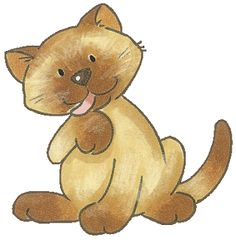 Gato clipart clipart library library 80 Best cats, gato clipart images in 2019 | Cats, Cat art, Cute clipart clipart library library