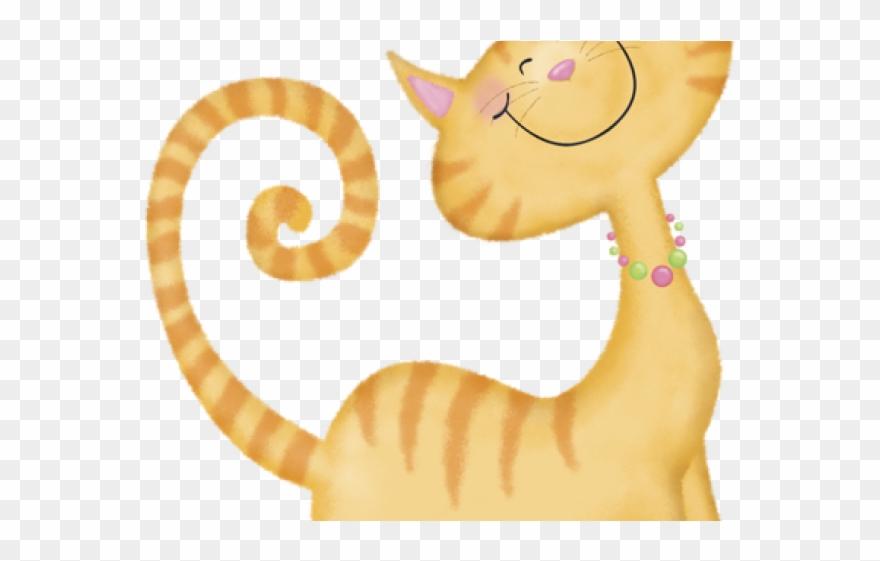 Gato clipart clip art freeuse stock Orange Cat Clipart - Gato Dibujo Infantil - Png Download (#822567 ... clip art freeuse stock