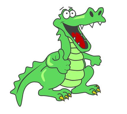 Gator in heartbeat clipart png library stock Gator clipart good morning - 104 transparent clip arts, images and ... png library stock