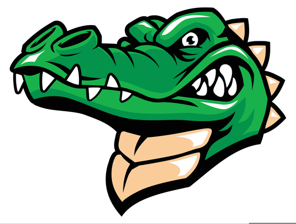 Gators clipart picture black and white library Uf Gator Clipart | Free Images at Clker.com - vector clip art online ... picture black and white library