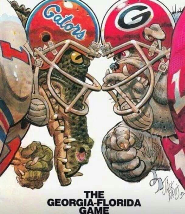 Gators vs bulldogs clipart jpg 17 Best images about this house is divided by bulldogs and gators ... jpg