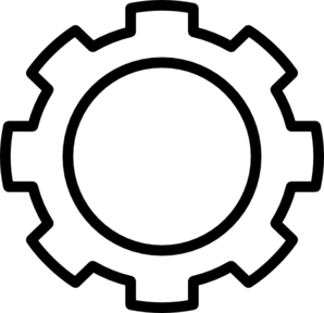 Gear clipart black and white clipart stock Gears Clipart | Free download best Gears Clipart on ClipArtMag.com clipart stock