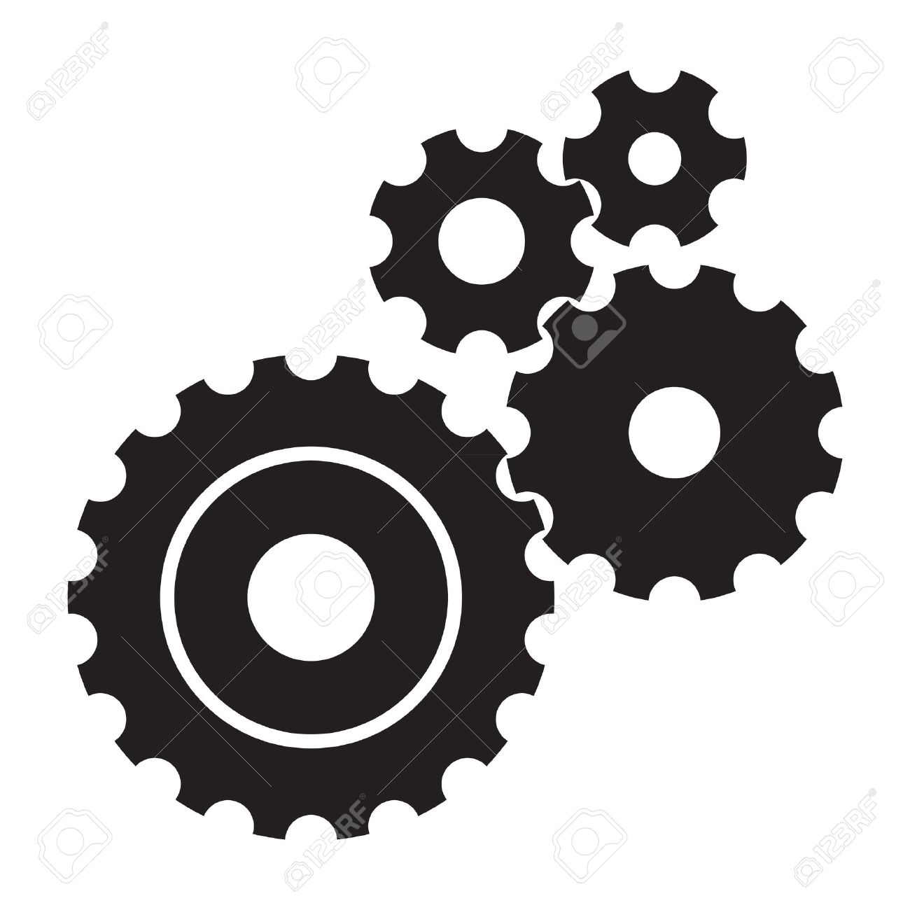 Gear clipart black and white graphic black and white Gear clipart black and white 2 » Clipart Station graphic black and white
