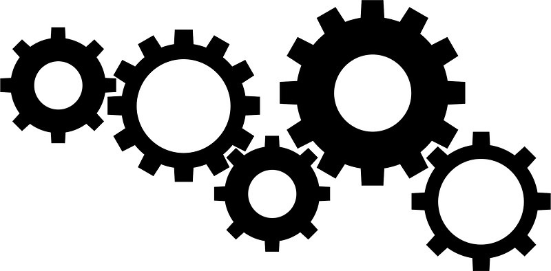 Gear clipart black and white banner transparent download Gear Clipart Black And White – Clipartxtras intended for Gears ... banner transparent download