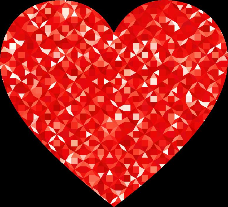 Gear heart clipart clip free Clipart - Ruby Gemstone Heart clip free
