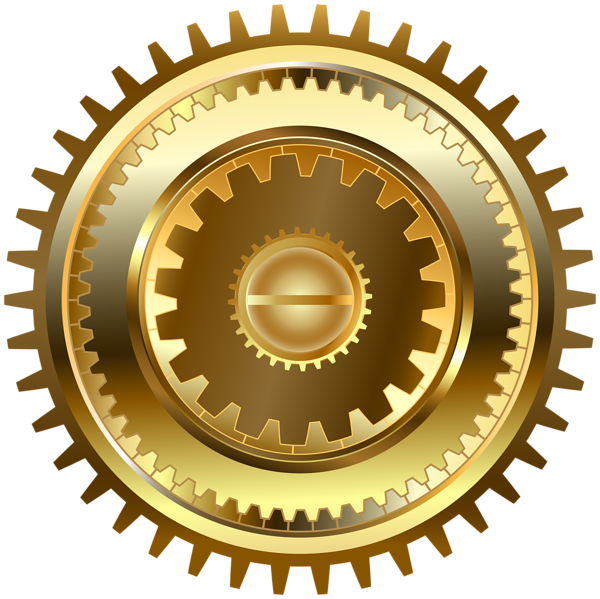 Gear heart clipart png library library Steampunk Gear PNG Clip Art Image | Gallery Yopriceville - High ... png library library