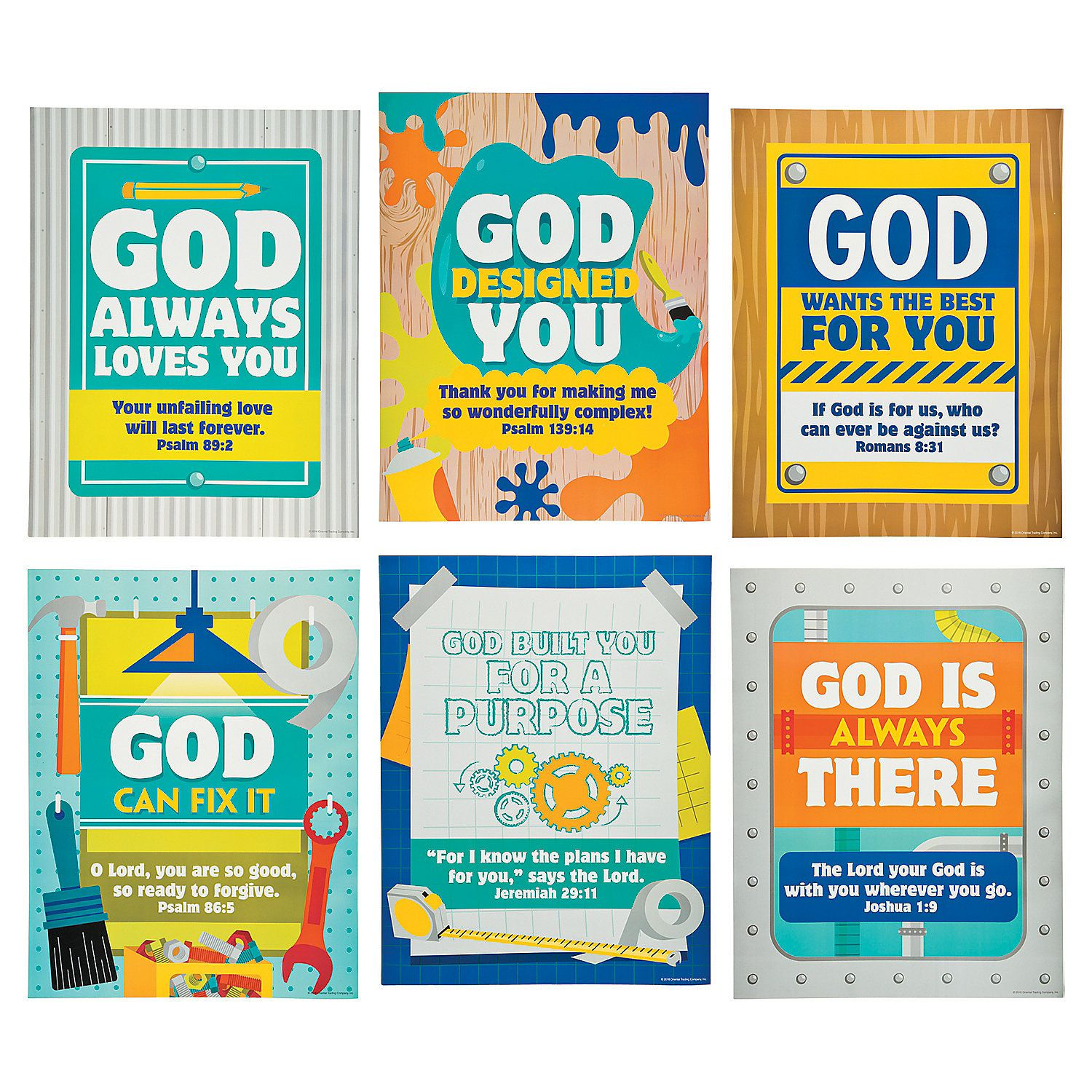 Geared up for god vbs clipart black and white graphic freeuse library Geared+Up+for+God+VBS+Poster+Set+-+OrientalTrading.com | maker fun ... graphic freeuse library