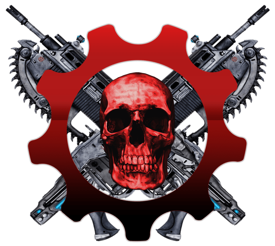 Gears of war logo clipart svg transparent library Gears Of War Skull Logo transparent PNG - StickPNG svg transparent library