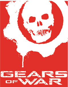 Gears of war logo clipart freeuse library GEARS OF WAR Logo Vector (.AI) Free Download freeuse library