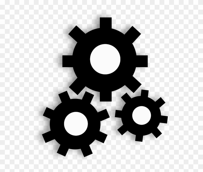 Steampunk gears clipart no background black and white svg transparent library Steampunk Gear Clipart 3d Png - Gears Clip Art, Transparent Png ... svg transparent library