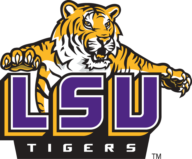 Lsu football clipart free svg royalty free download LSU Tigers Alternate Logo - NCAA Division I (i-m) (NCAA i-m ... svg royalty free download