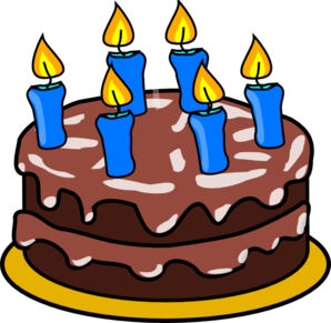 Geburtstag clipart clipart library stock Cake Clip Art at Clker.com - vector clip art online, royalty free ... clipart library stock