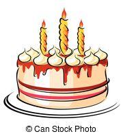 Geburtstag torte clipart banner free Clipart Vector of torte - blank - a birthday cake csp5720985 ... banner free
