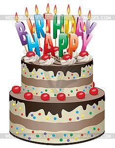 Geburtstag torte clipart clipart free library Clipart geburtstagstorte - ClipartFest clipart free library