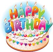 Geburtstag torte clipart royalty free Birthday Clip Art - Royalty Free - GoGraph royalty free