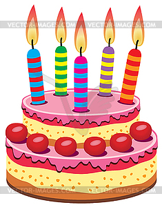 Geburtstag torte clipart picture black and white Geburtstagstorte clipart - ClipartFest picture black and white