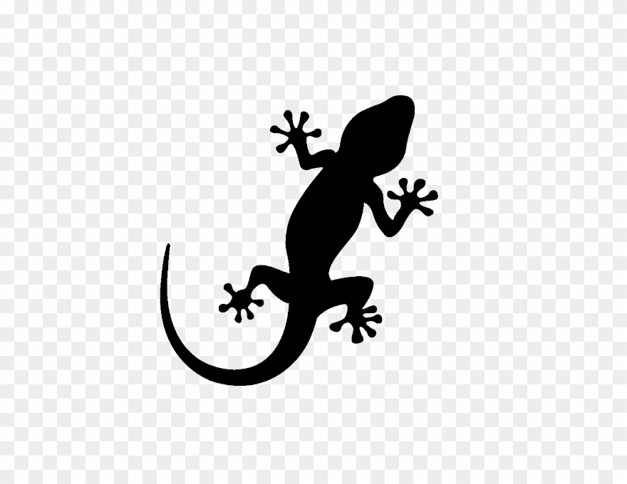 Gecko clipart jpg library download Stickers Salamandre Geckos - Ibiza Gecko Clipart (#1287175) - PinClipart jpg library download