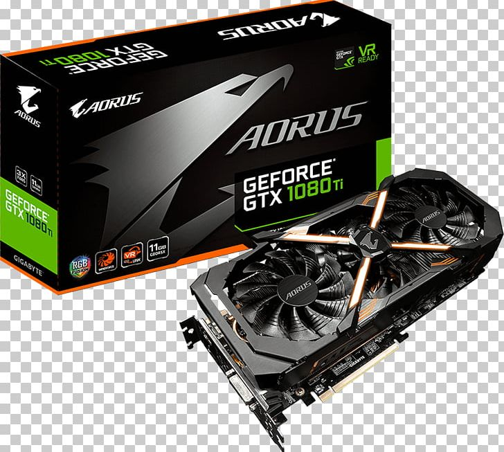 Geforce gtx 1080 clipart vector free stock Graphics Cards & Video Adapters NVIDIA AORUS GeForce GTX 1080 Ti ... vector free stock