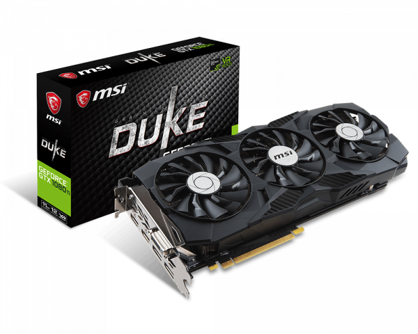 Geforce gtx 1080 clipart banner black and white GeForce GTX 1080 Ti DUKE 11G | Graphics card - The world leader in ... banner black and white