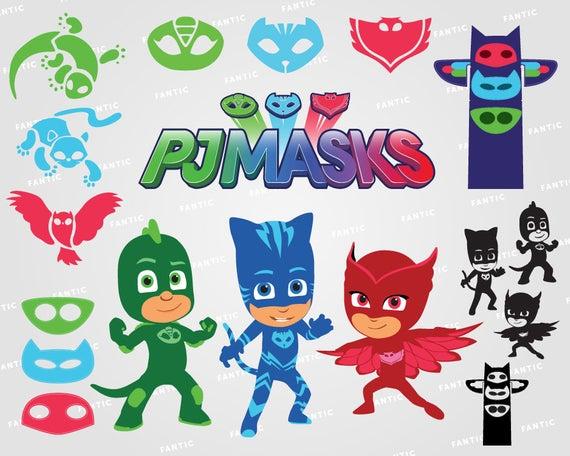 Gekko clipart jpg freeuse library PJ Masks clipart silhouette – PJ Masks svg – Catboy svg file ... jpg freeuse library