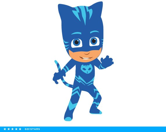 Gekko pj mask clipart png free library PJ Masks clipart silhouette – PJ Masks svg – Catboy svg file ... png free library