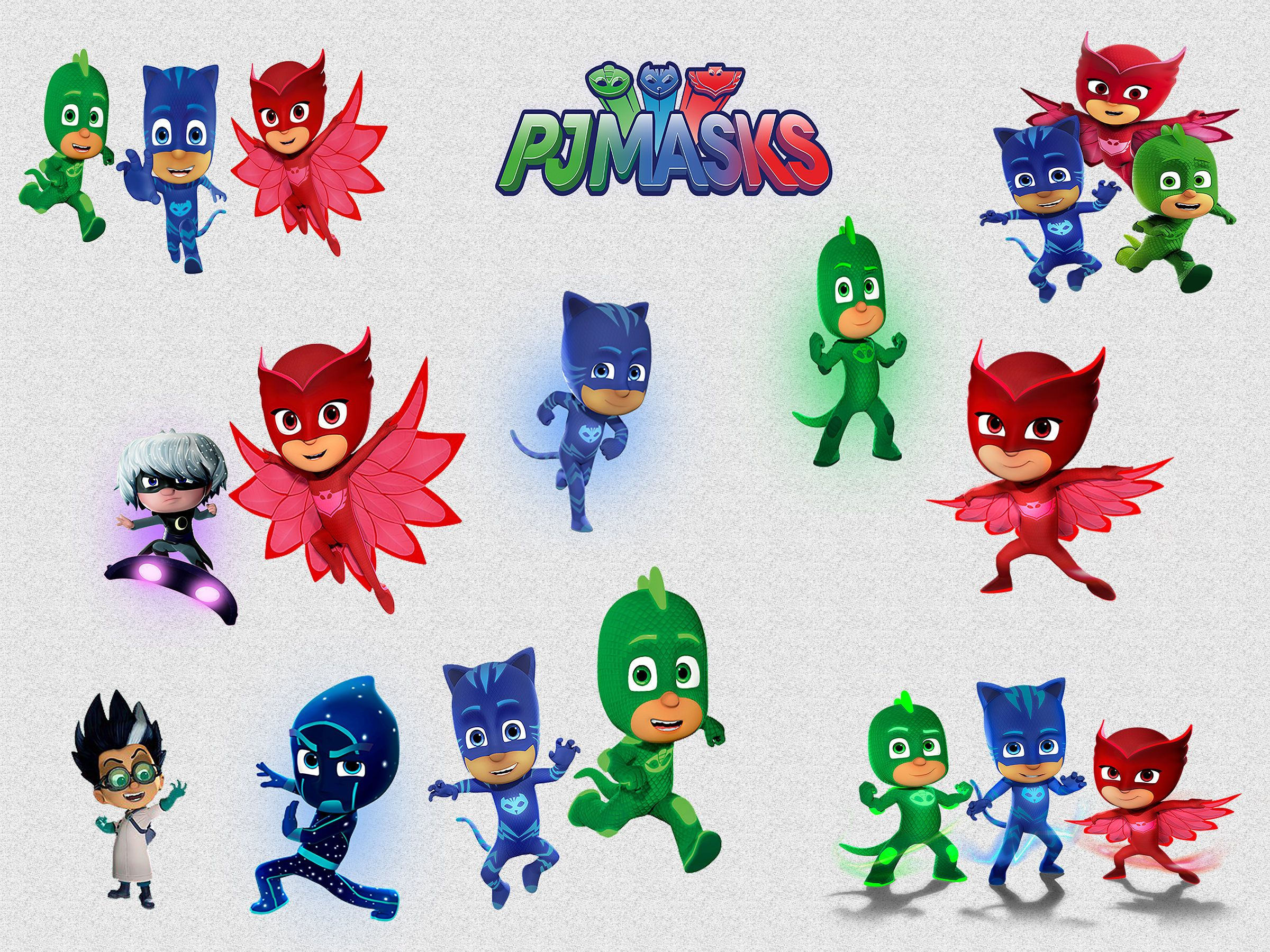 Gekko pj mask clipart svg black and white stock PJ MASKS CLIPART, 21 High Quality Png Images with Transparent ... svg black and white stock