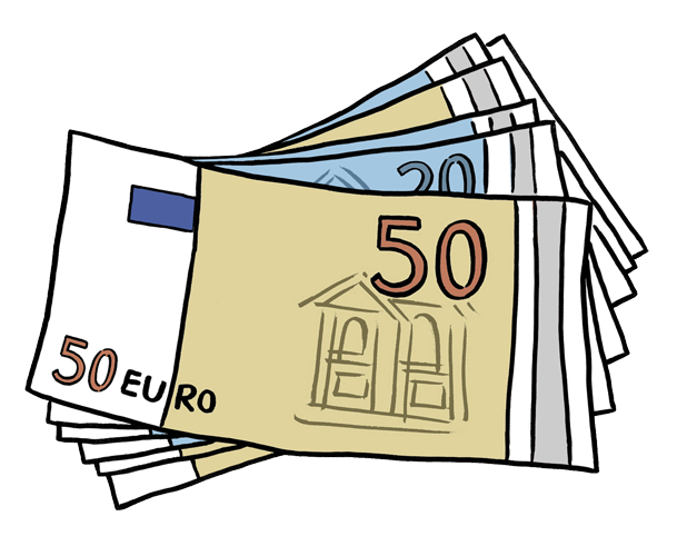 Geld clipart banner free Download Free png Geld euro clipart - DLPNG.com banner free