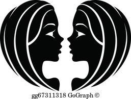 Gemini clipart sign image download Gemini Clip Art - Royalty Free - GoGraph image download