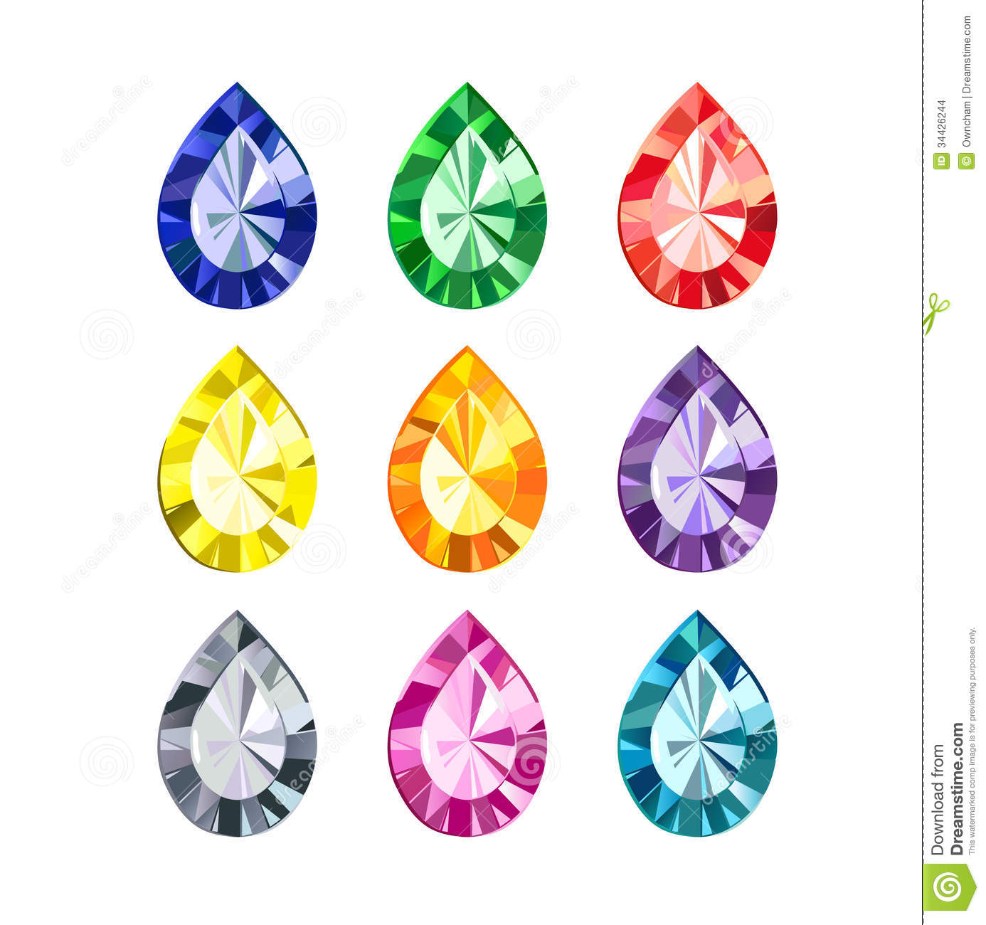Gemstone clipart clip art transparent stock Free gemstone clipart 3 » Clipart Station clip art transparent stock