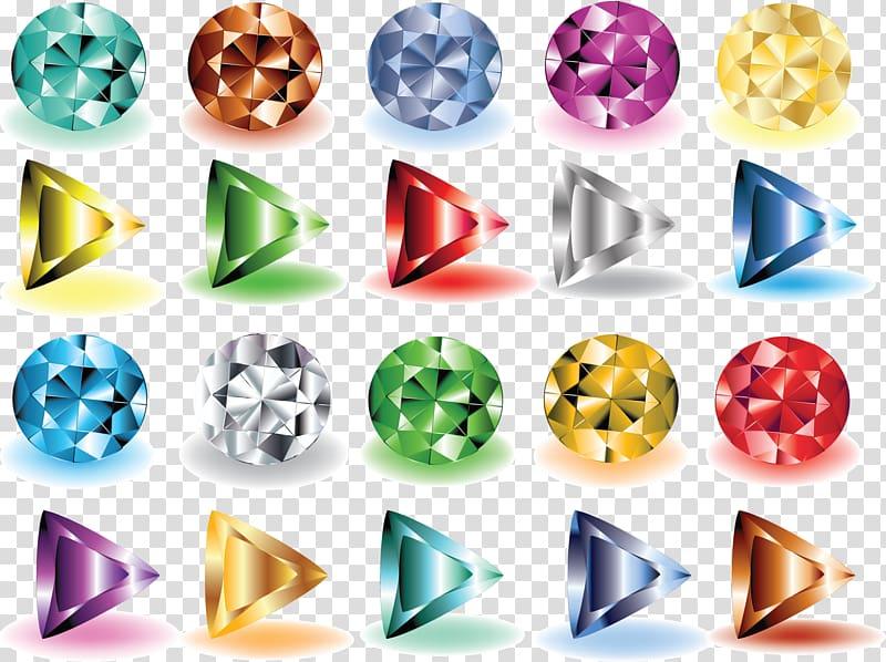 Gemstone clipart png library library Euclidean Diamond Gemstone , diamond transparent background PNG ... png library library