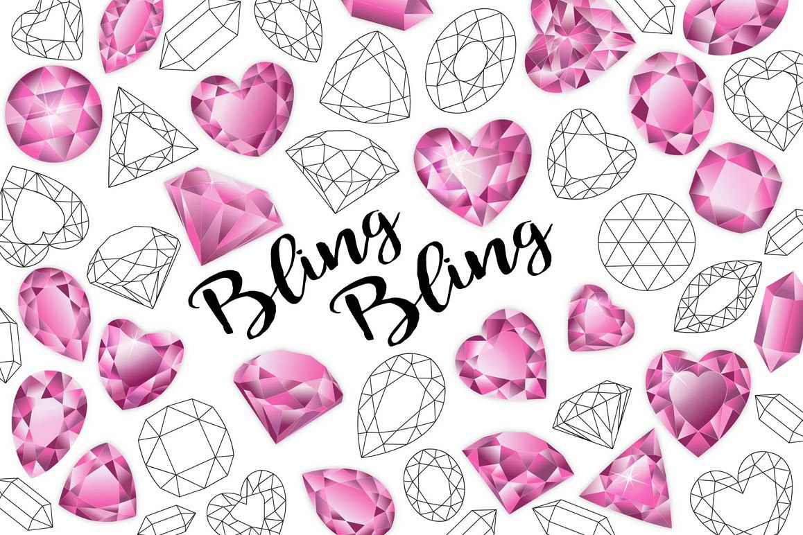 Gemstone clipart png freeuse Gemstone Clipart, Heart Gemstones, Valentines Day Clipart png freeuse