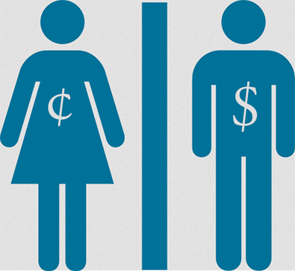 Wage equality clipart