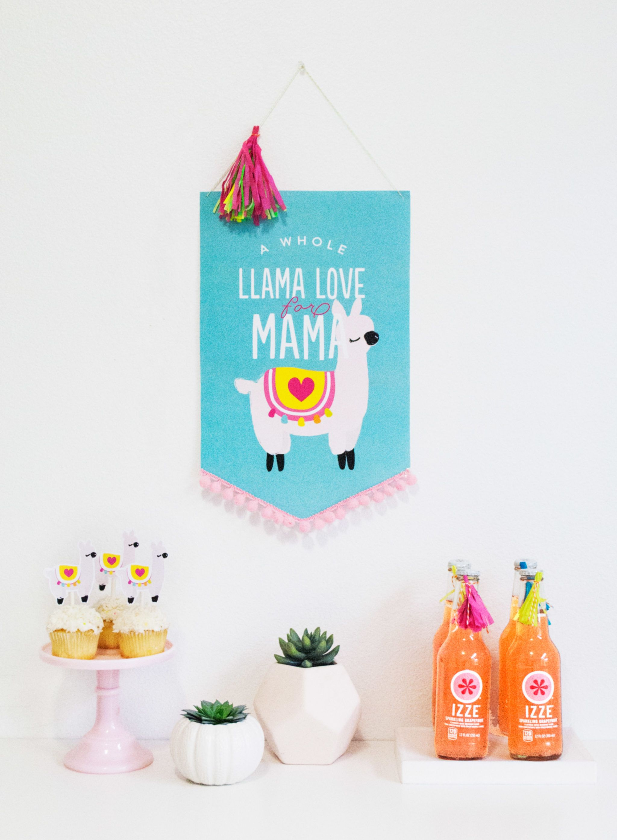 Gender neutral mothers day clipart picture freeuse A Whole Llama Love for Mama this Mother\'s Day | Best of Project ... picture freeuse