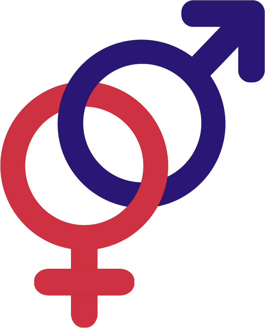 Gender symbols clipart vector transparent library Planet Cartoon clipart - Man, Woman, Text, transparent clip art vector transparent library
