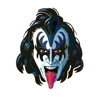 Gene simmons clipart clip art free Pop 50 - Gene Simmons | One of the most famous rock stars in… | Flickr clip art free