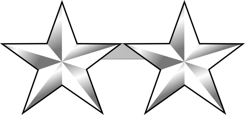 General star clipart vector royalty free library United States Army Rank Structure (by decemizi) - Memorize.com ... vector royalty free library