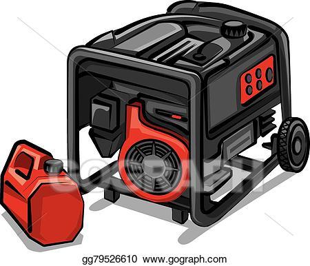 Generator clipart clipart transparent Vector Stock - Generator. Clipart Illustration gg79526610 - GoGraph clipart transparent