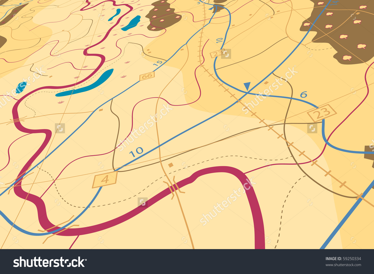 Generic road map clipart png freeuse download Editable Vector Illustration Land Use Stock Vectors Clip Art ... png freeuse download